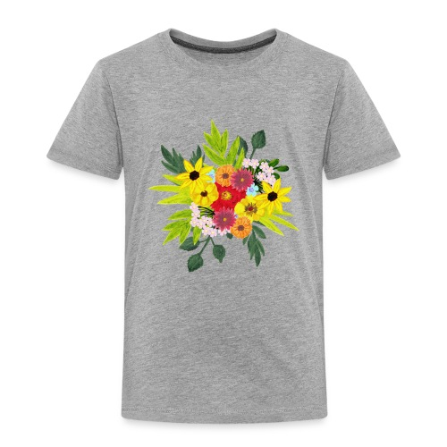 Flower_arragenment - Kids' Premium T-Shirt