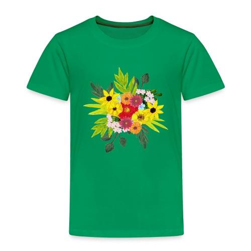 Flower_arragenment - Kids' Premium T-Shirt