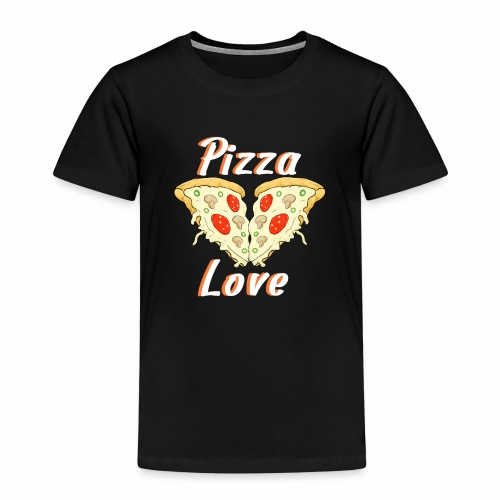 love to pizza - Camiseta premium niño