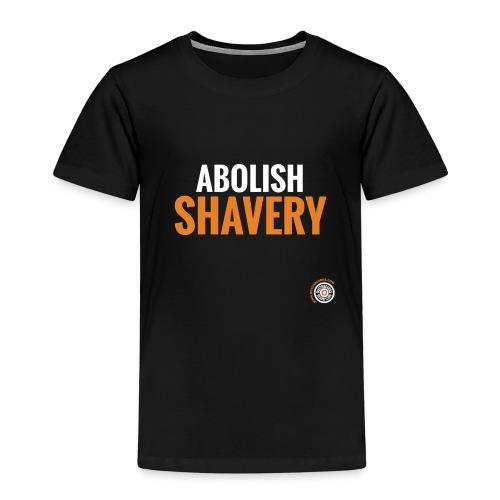 Abolish Shavery - Kinderen Premium T-shirt