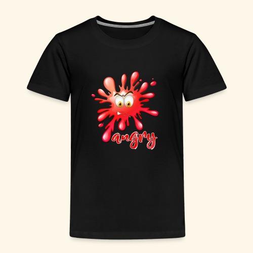 angry - Maglietta Premium per bambini