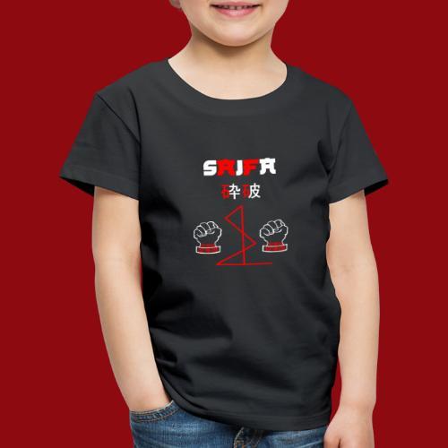 Saifa - Kata - Karate - Goju Ryu - Martial Arts - Kinder Premium T-Shirt