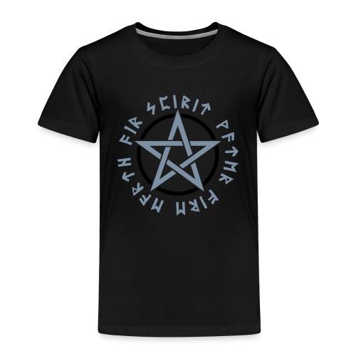 Pentagramm, Elemente, Runen, Magie, Symbol, Stern - Kinder Premium T-Shirt