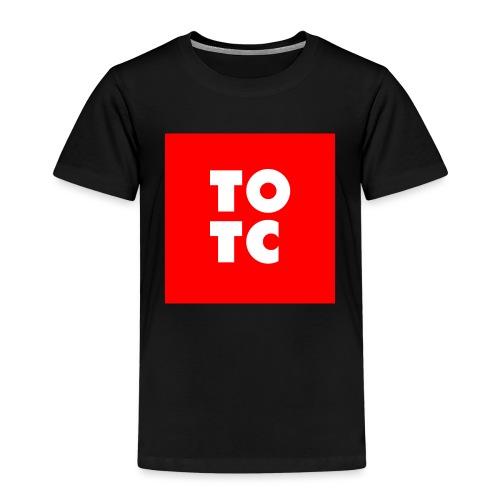 TOTC red - Lasten premium t-paita
