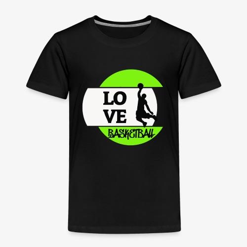Love Basketball - Kinder Premium T-Shirt