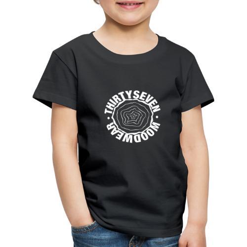 37 Woodwear Logo white - Kinder Premium T-Shirt