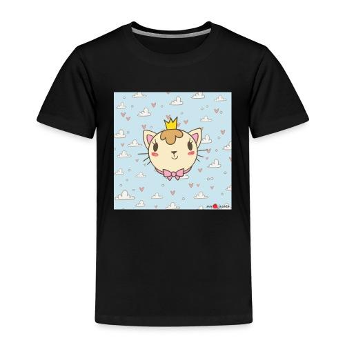 cat princess - Kinder Premium T-Shirt