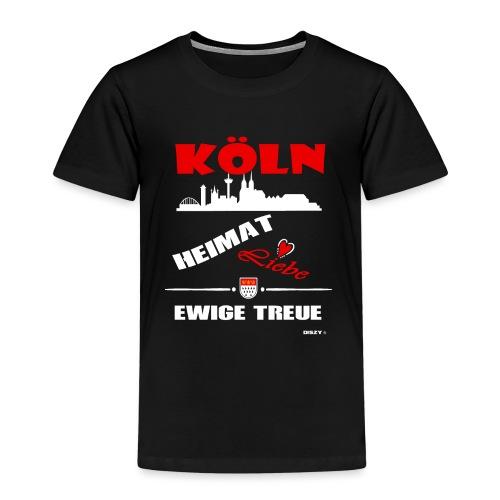 Köln Heimat Liebe Ewige Treue Veedel Hätz - Kinder Premium T-Shirt