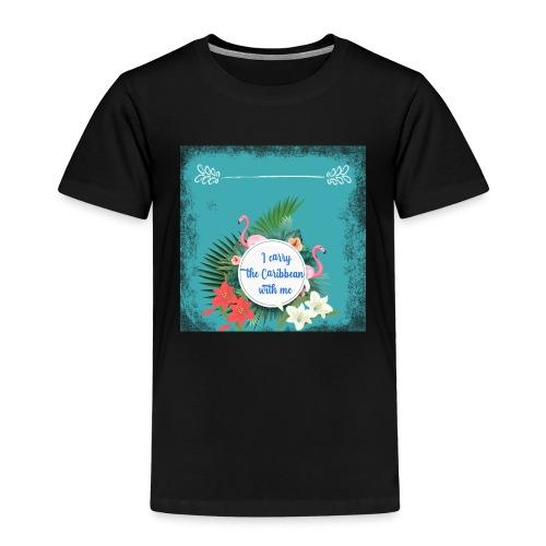 The caribean inside - Camiseta premium niño