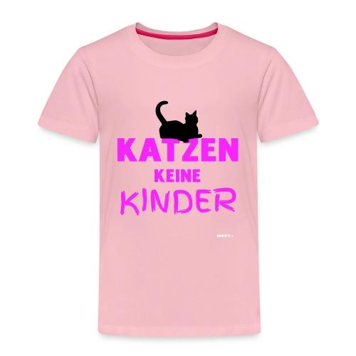 Meine Katzen sind meine Kinder Katzenliebhaber - Kinder Premium T-Shirt