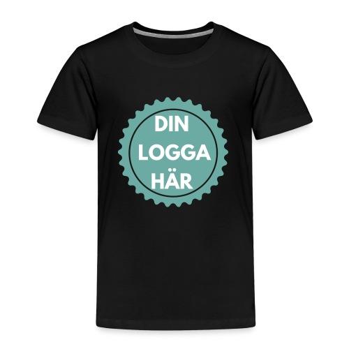 Egen Logga - Premium-T-shirt barn