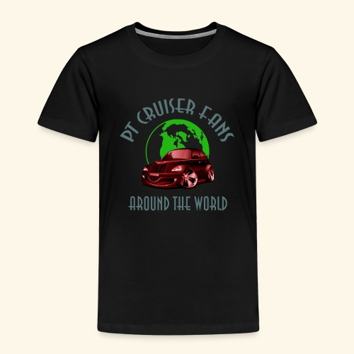 pt cruiser around the world2 red - Kinder Premium T-Shirt