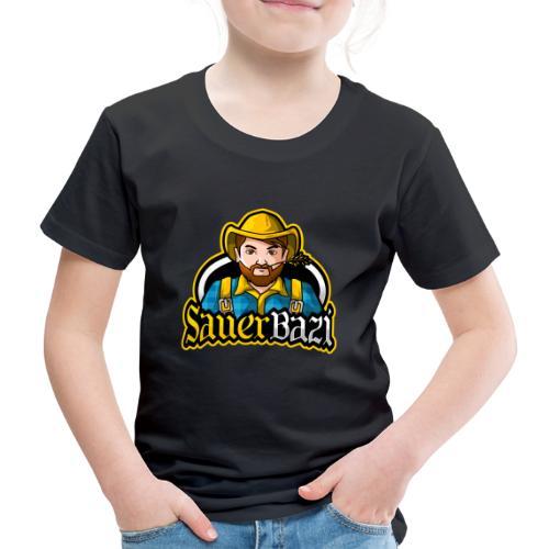 SauerBazi Logo - Kinder Premium T-Shirt