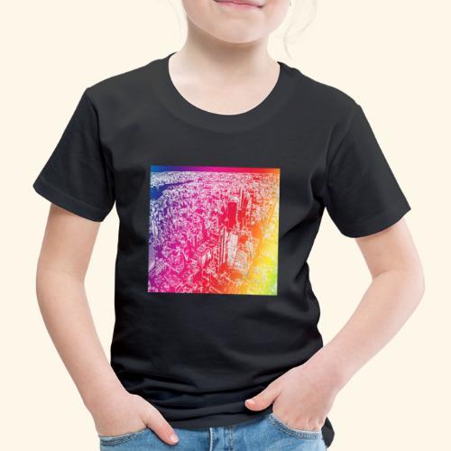 Manhattan arcobaleno - Maglietta Premium per bambini