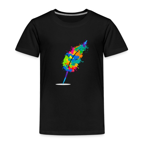 Original Schreiben-im-Flow.de - Feder - Kinder Premium T-Shirt