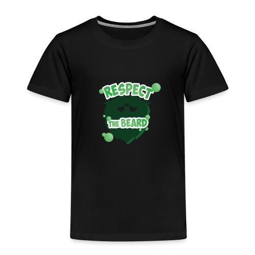 Respect The Beard - Kids' Premium T-Shirt
