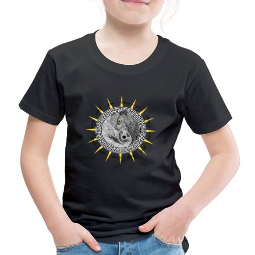 EULE OWL Yin Yang - Kinder Premium T-Shirt
