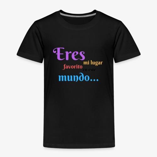 Mi lugar favorito - Camiseta premium niño