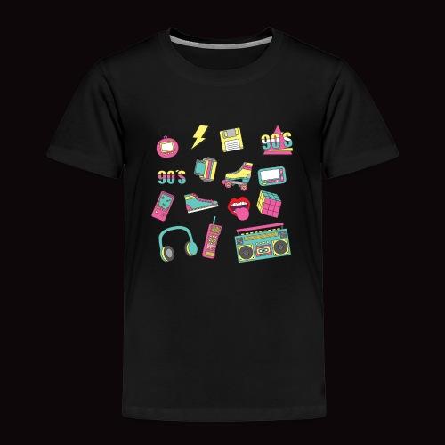 90 s - Camiseta premium niño