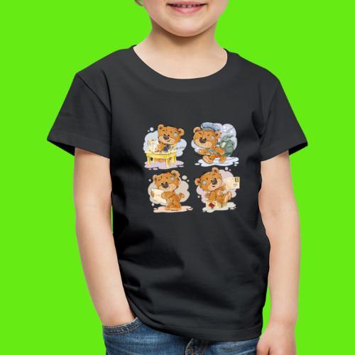 Teddybären - Kinder Premium T-Shirt