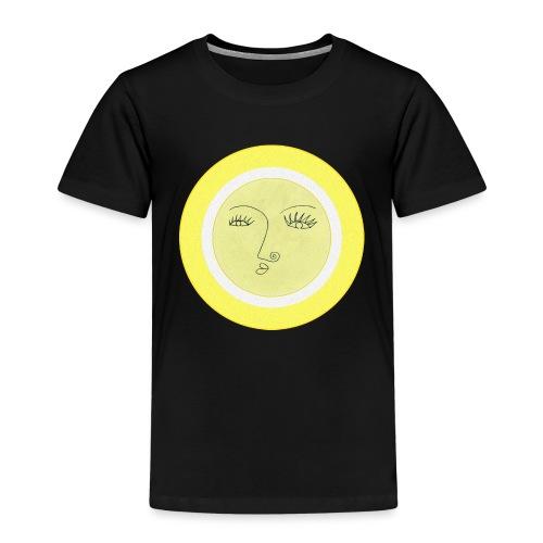 Sonne - Gesicht - Kinder Premium T-Shirt