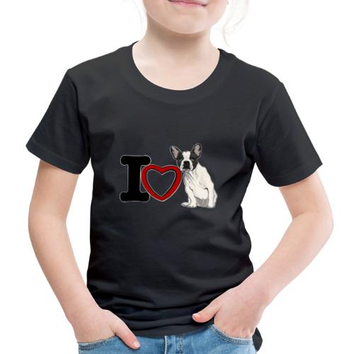 I Love Bouledeogue Français - T-shirt Premium Enfant
