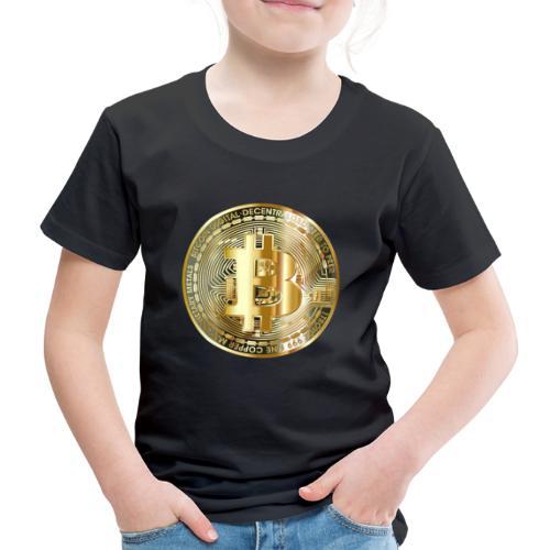 bitcoin for everyone - Kinder Premium T-Shirt