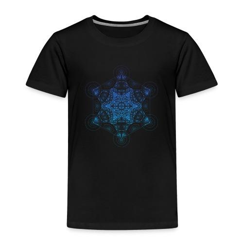 Fractal Metatron's Rotation Gradient - Kids' Premium T-Shirt