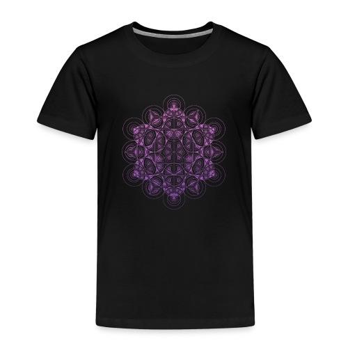 Sacred Traingle Circles Gradient - Kids' Premium T-Shirt