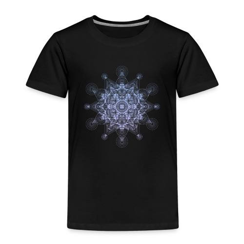 Sacred Star Dimensions Gradient - Kids' Premium T-Shirt