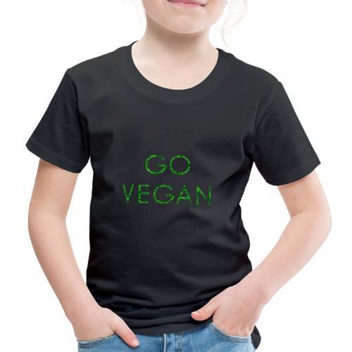 GO VEGAN! - Kinder Premium T-Shirt