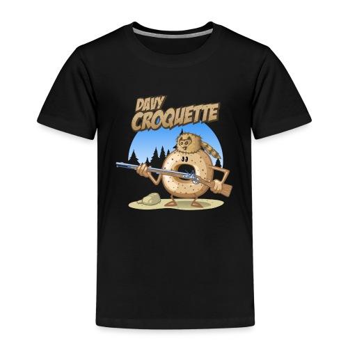 Davy croquette - Kinder Premium T-Shirt