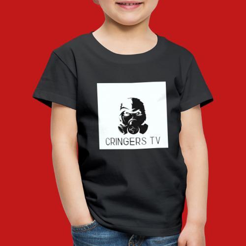 Original Cringers Tv Logga - Premium-T-shirt barn
