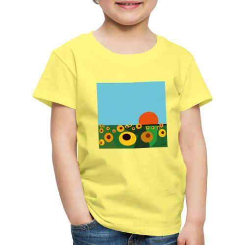 Tournesol - T-shirt Premium Enfant
