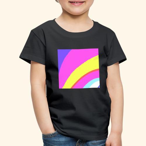 Curva colorata - Maglietta Premium per bambini