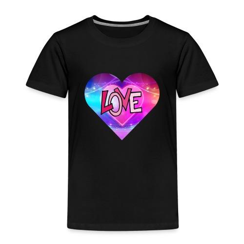 love hartje - Kinderen Premium T-shirt