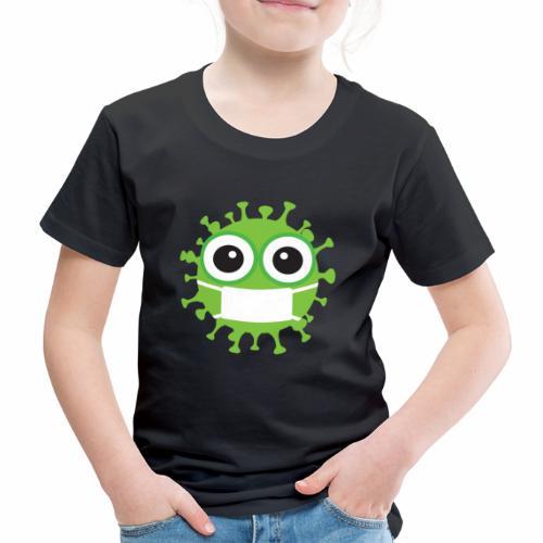 Uśmiechnij się pod maską - Koszulka dziecięca Premium