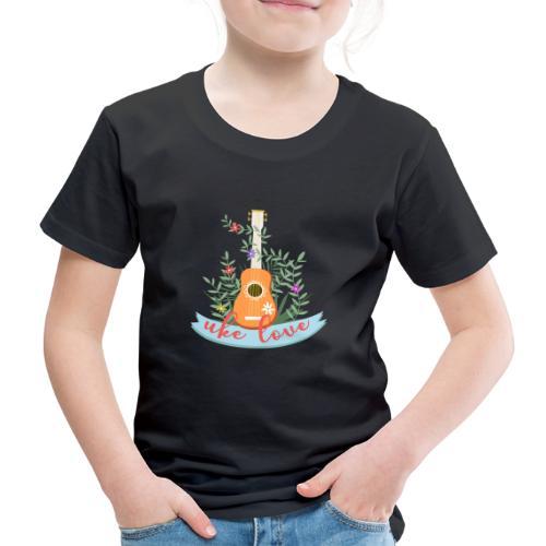 UKE LOVE - Kids' Premium T-Shirt