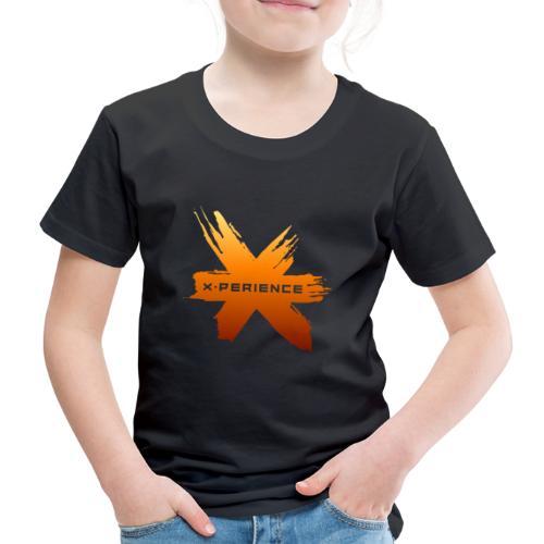 X-Perience Orange Logo - Kinder Premium T-Shirt