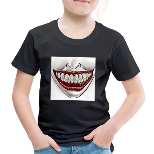 Smile Maske - Kinder Premium T-Shirt