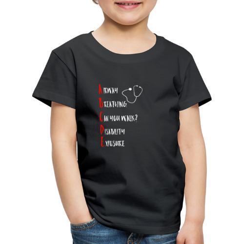 ABCDE Schema witzig - Kinder Premium T-Shirt
