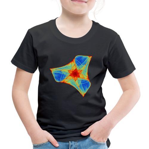 Bunter Bumerang Seestern Meerestier 12117j - Kinder Premium T-Shirt