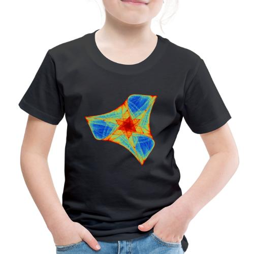 Colorful boomerang starfish sea creature 12117j - Kids' Premium T-Shirt