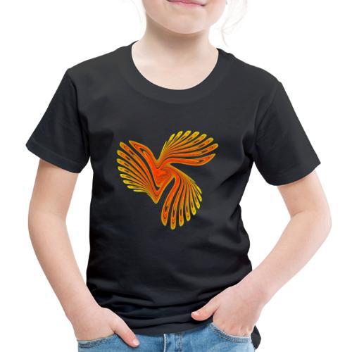 Vogel Paradiesvogel Kakadu Ikarus Chaos 4314aut - Kinder Premium T-Shirt