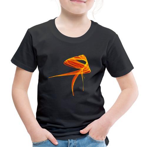 Aquarell Kunstgrafik Gemälde Bild Chaos 1307aut - Kinder Premium T-Shirt