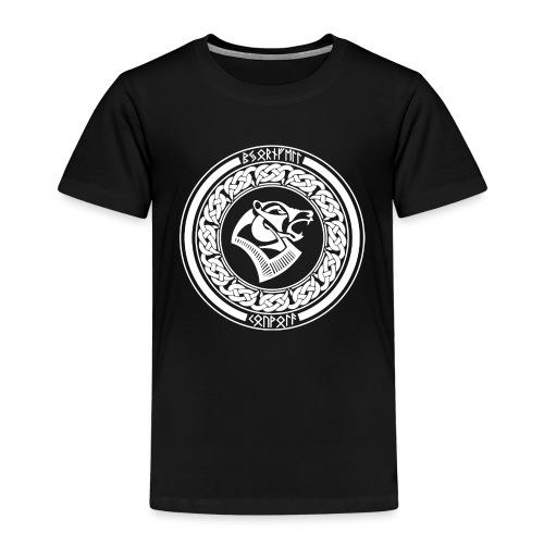 BjörnfellRisingWhite - Lasten premium t-paita