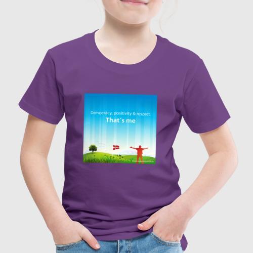 Rolling hills tshirt - Børne premium T-shirt
