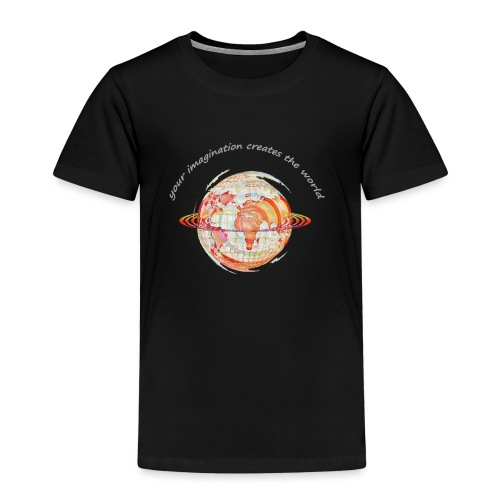 imagine_hinten_aufHell_ko - Kinder Premium T-Shirt