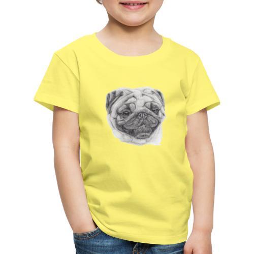 Pug mops 2 - Børne premium T-shirt