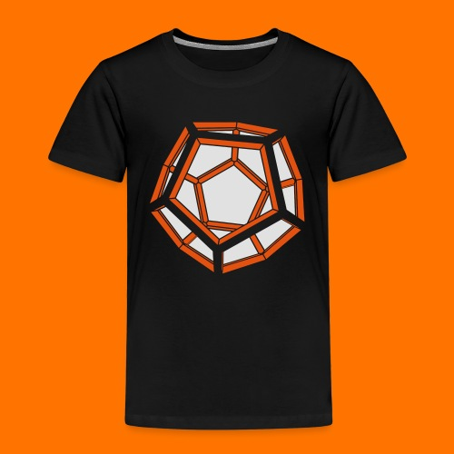 Dodekaeder 3D - Kinder Premium T-Shirt